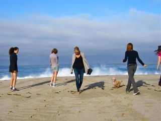 Carmel Writing Retreats Beach