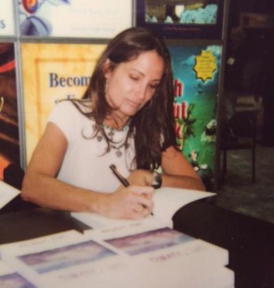 Linda book signing