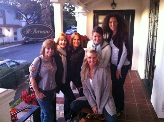 Carmel Writing Retreats fast friends