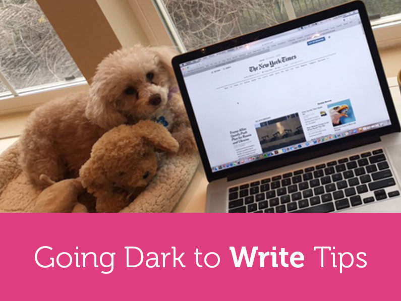 Going Dark to Write How-To