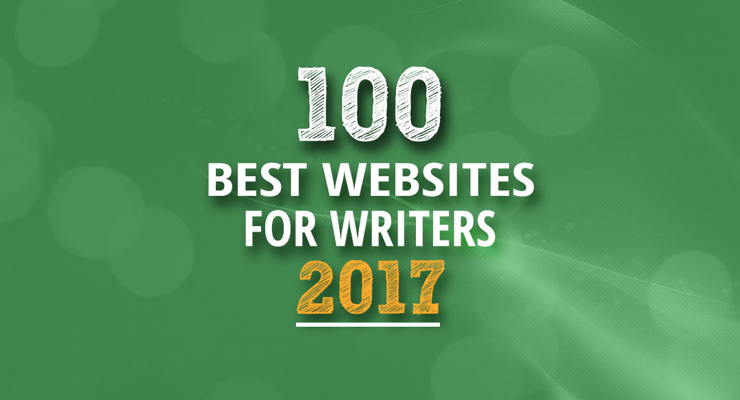 #Grateful. 100 Best Websites for Writers, 2017