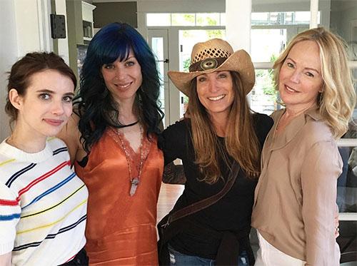 Emma Roberts, Jillian Lauren, Linda Sivertsen, Dani Shaprio