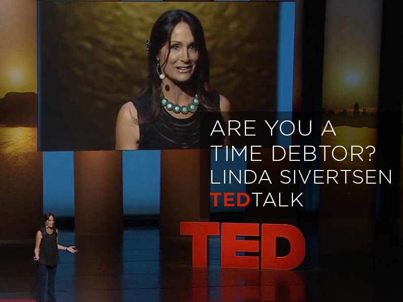 My TED Talk on TIME DEBT