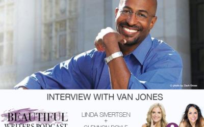 Van Jones on the Beautiful Writers Podcast