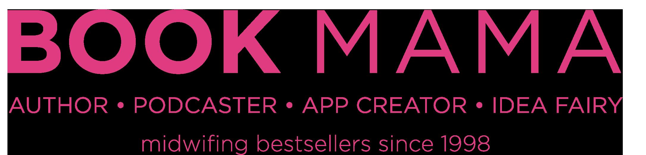 Bookmama Pink version PNG