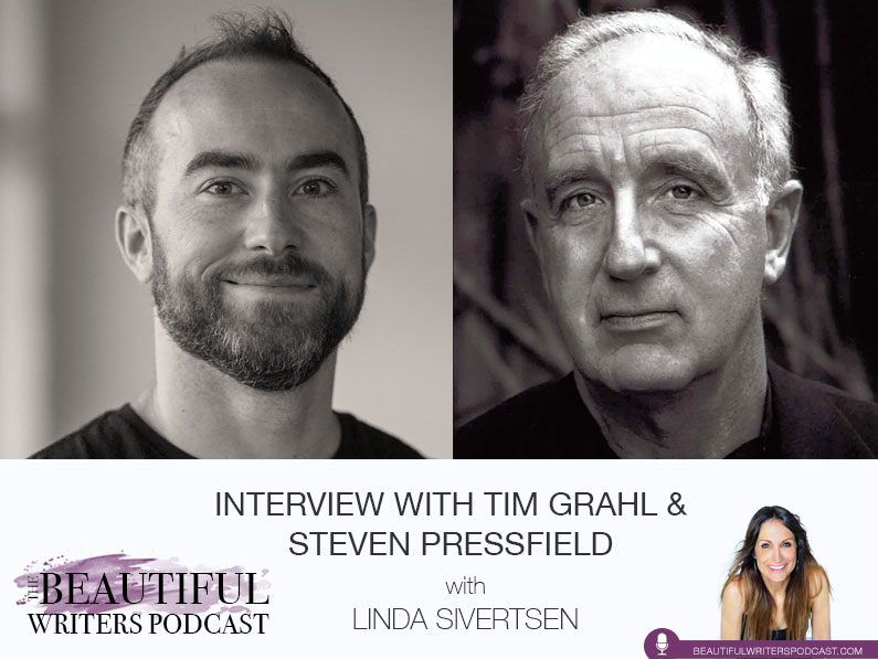 Tim Grahl and Steven Pressfield on the Beautiful Writers Podcast