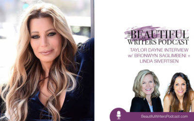 Taylor Dayne on the Beautiful Writers Podcast