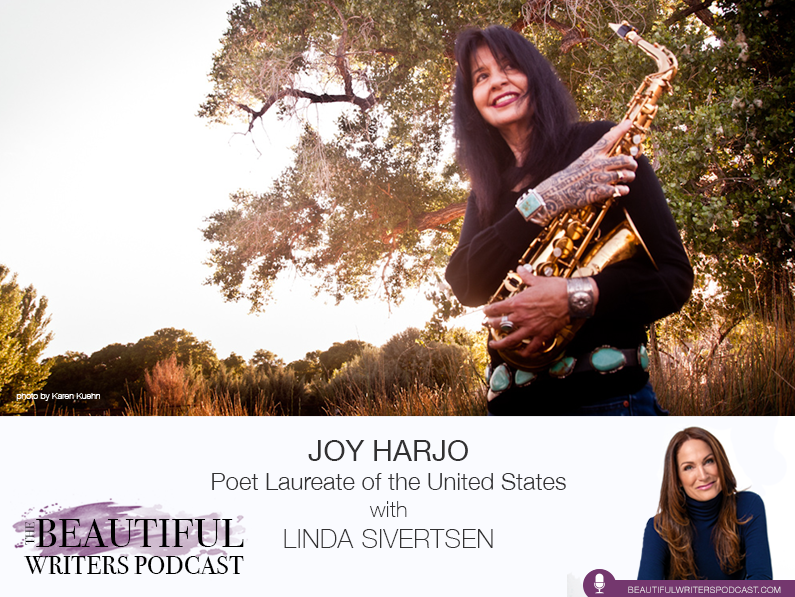 US Poet Laureate Joy Harjo on the Beautiful Writers Podcast